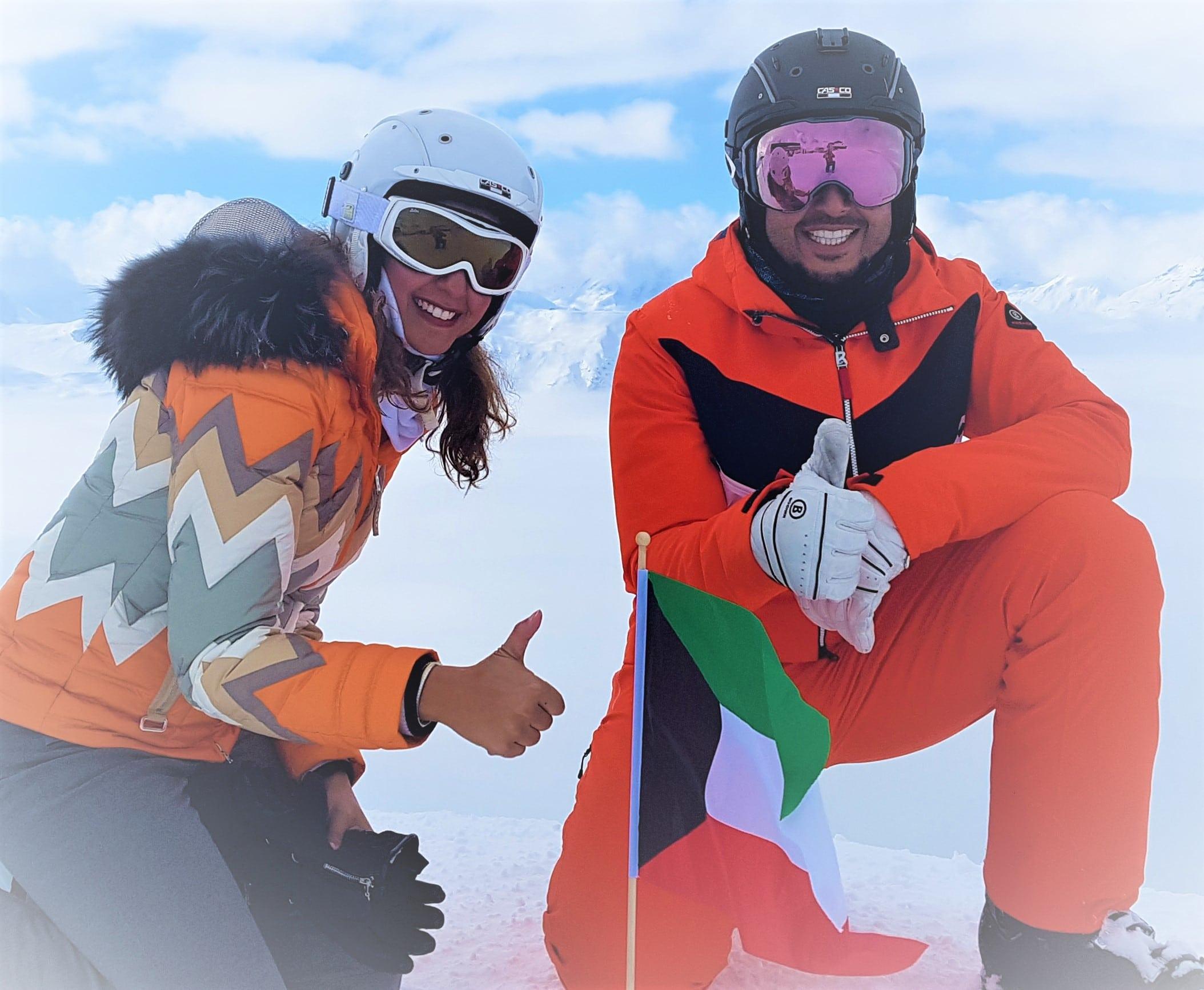 Ski hors piste sur 3 Valllées
